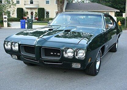 1970 Pontiac GTO for sale 100945269