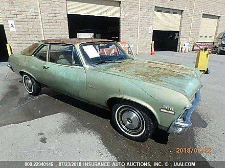 1970 chevrolet Nova for sale 101015290