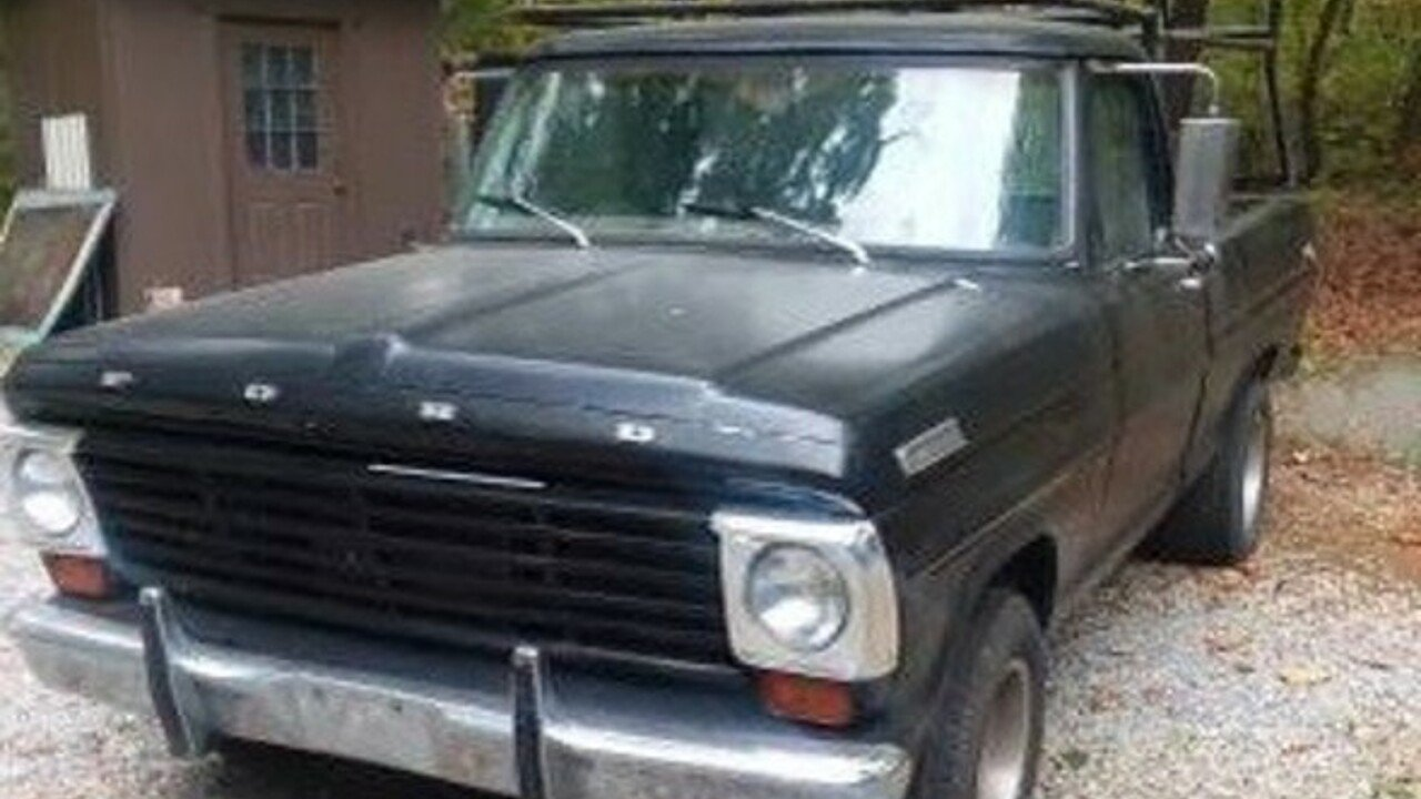 1970 Ford F100 For Sale Near Woodland Hills California 91364 Pickup Truck 100924760