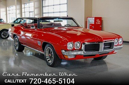 1970 pontiac Le Mans for sale 101018167