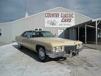 1971 Cadillac De Ville for sale 100748543