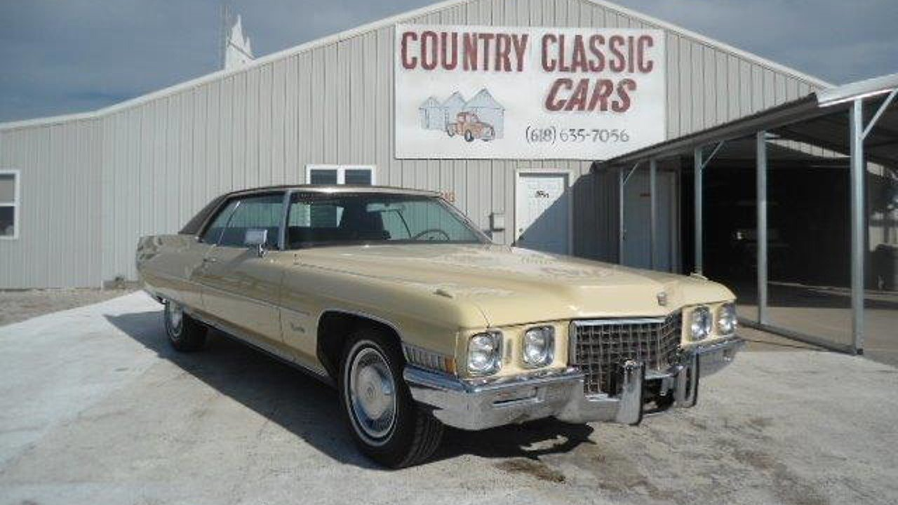 1971 Cadillac De Ville for sale near Staunton, Illinois 62088 ...