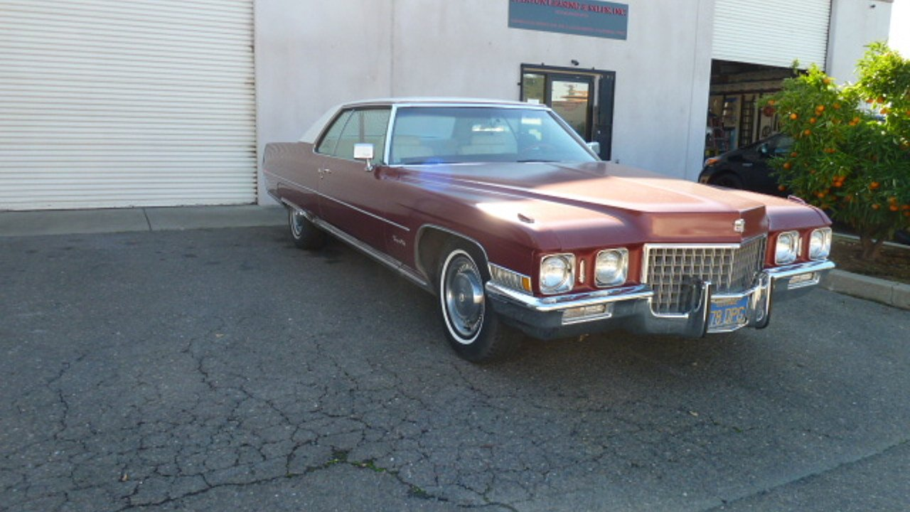 1971 Cadillac De Ville Coupe for sale 100819192