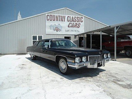 1971 Cadillac Fleetwood for sale 100748460