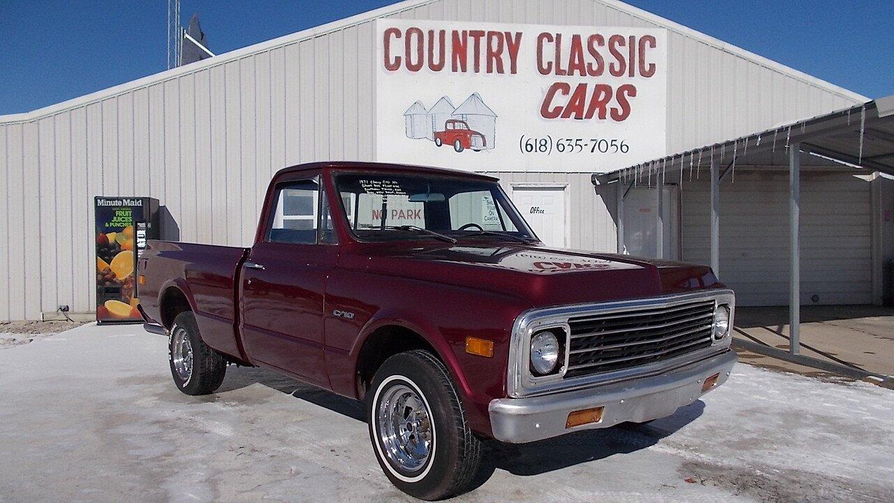 1971 Chevrolet C/K Truck for sale near Staunton, Illinois 62088 ...