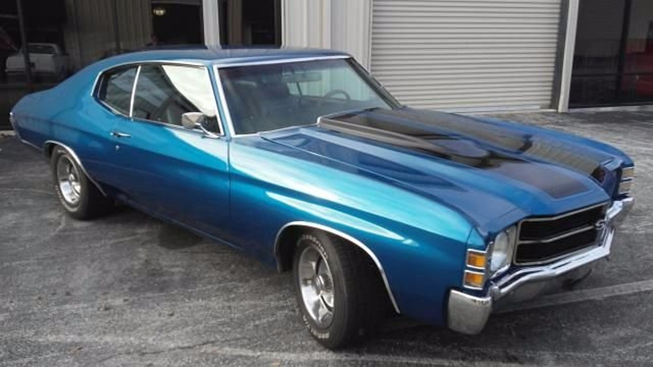 1971 Chevrolet Chevelle for sale 100896603