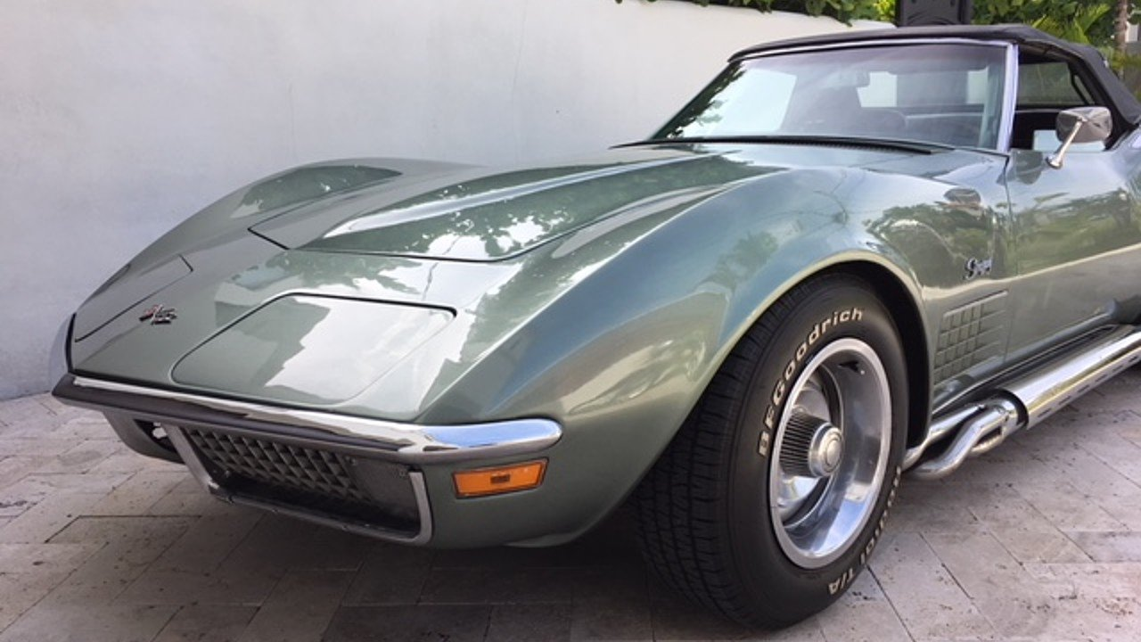 1971 Chevrolet Corvette Convertible for sale 101010325