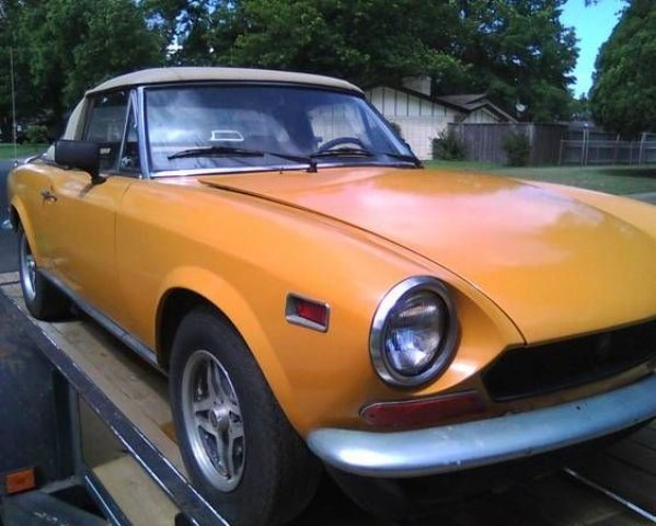 1974 fiat spider for sale