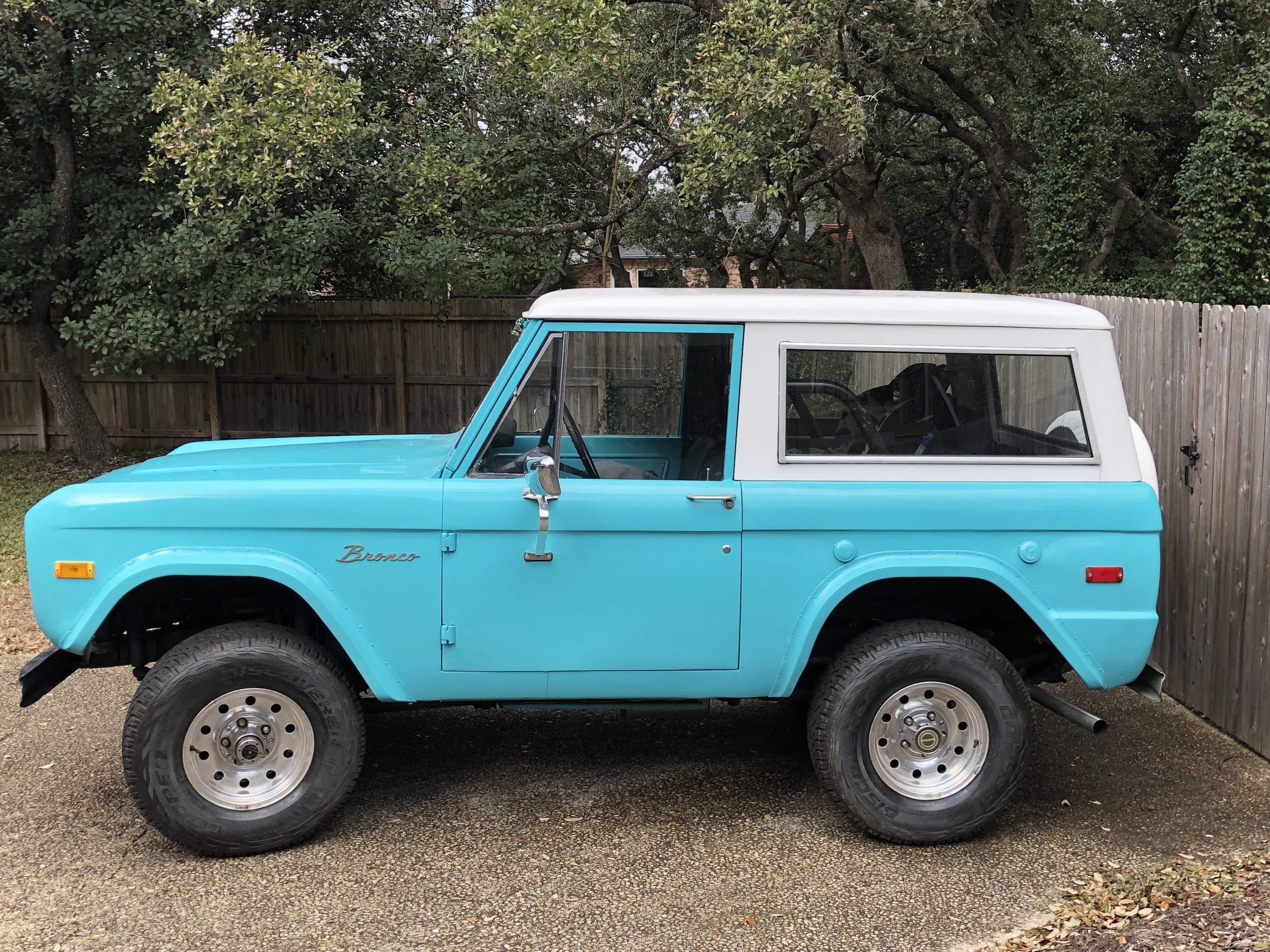 Ausgezeichnet 71 Ford Bronco Verdrahtungsschema Galerie ...