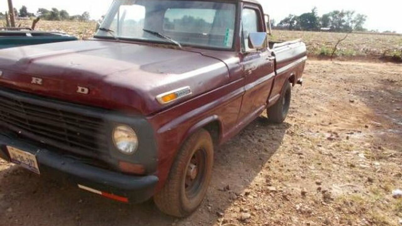 1971 Ford F100 for sale 100840986