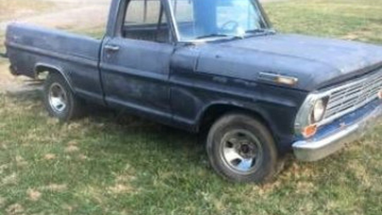 1971 Ford F100 for sale 100851999