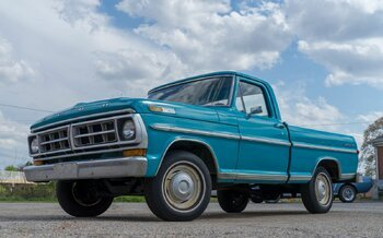 1971 Ford F100 2WD Regular Cab for sale 100976367
