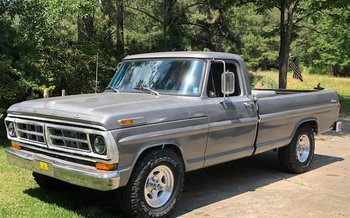 1971 Ford F100 2WD Regular Cab for sale 100987015