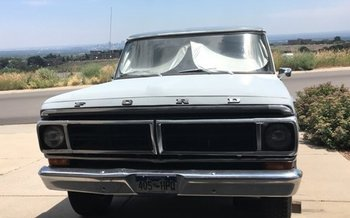 1971 Ford F100 2WD Regular Cab for sale 101055642
