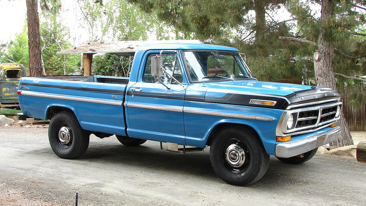 1971 Ford F250 2WD Regular Cab for sale 100858481
