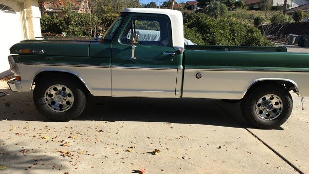 1971 Ford F250 2WD Regular Cab Super Duty for sale 101009108