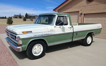 1971 Ford F250 2WD Regular Cab for sale 100996401