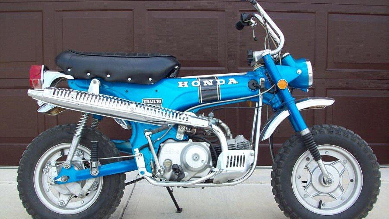 1971 honda trail 70 for sale near fairmount, indiana 46928