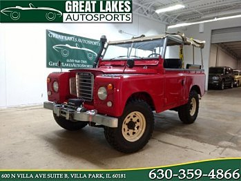 1971 Land Rover Series III for sale 101012199