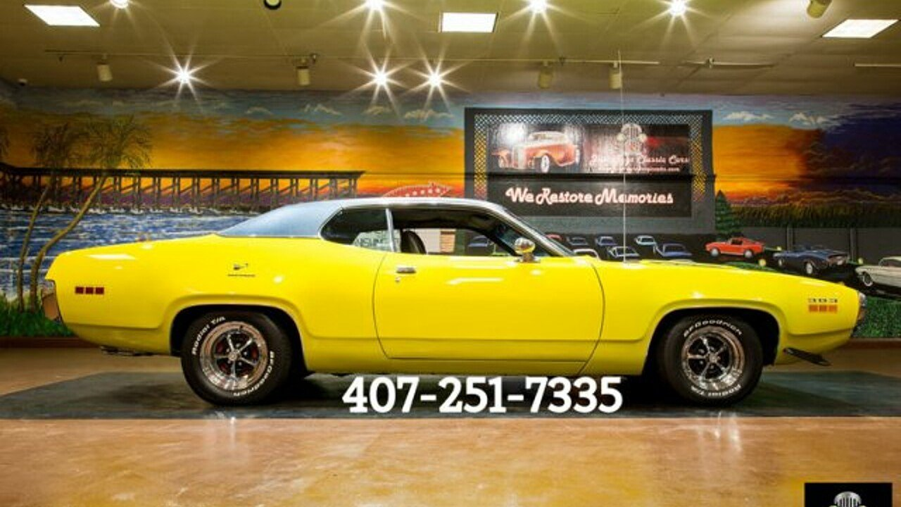 1971 Plymouth Roadrunner for sale near Orlando, Florida 32837 ...