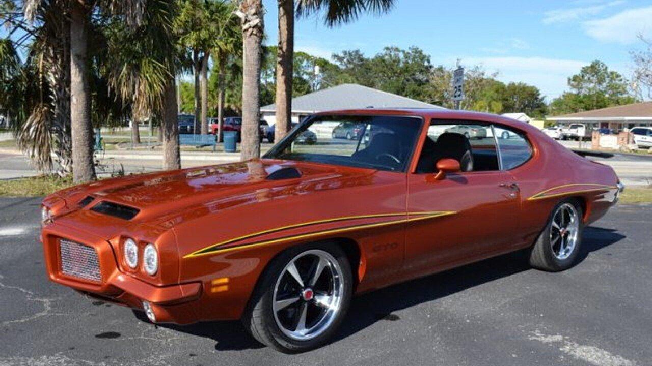 1971 Pontiac GTO for sale near Englewood, Florida 34223 - Classics ...
