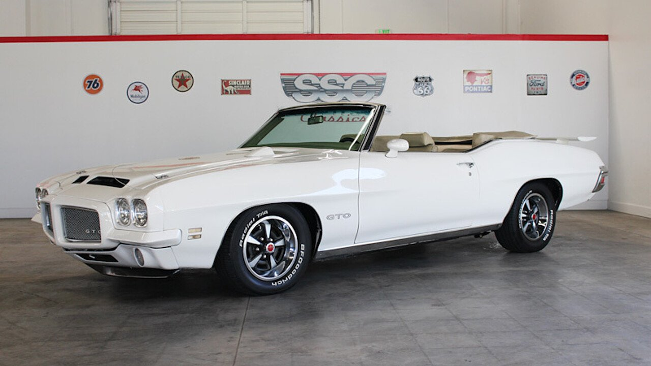 1971 Pontiac GTO for sale 100960308