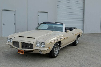 1971 Pontiac GTO for sale 100820484