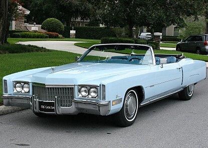 1972 Cadillac Eldorado for sale 100784599