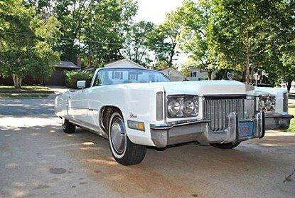 1972 Cadillac Eldorado for sale 100832609