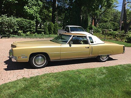 Cadillac eldorado classics for sale classics on autotrader for 1972 cadillac eldorado interior
