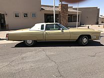 1972 Cadillac Eldorado Coupe for sale 100976667