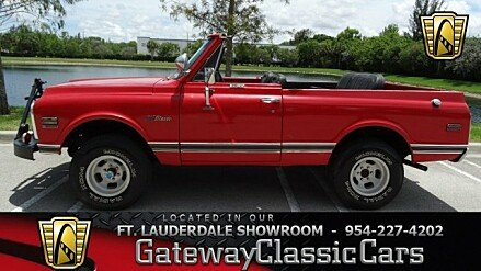 1972 Chevrolet Blazer for sale 100762567