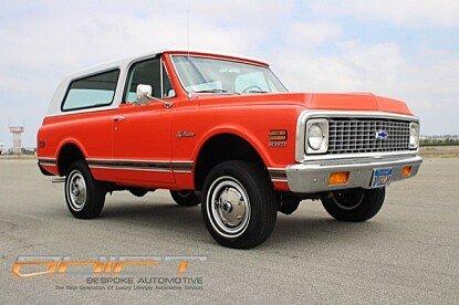 1972 Chevrolet Blazer for sale 100903581