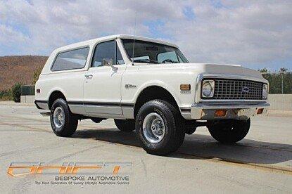 1972 Chevrolet Blazer for sale 100926980