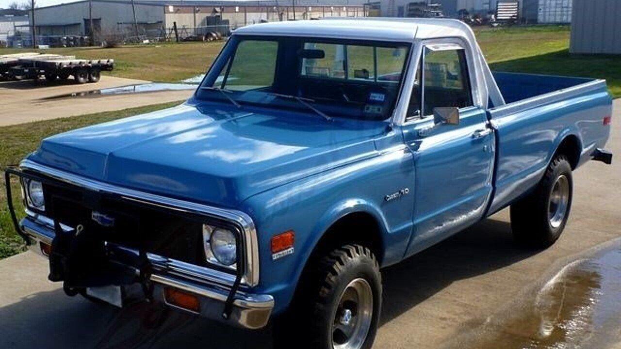 1972 chevrolet c k truck for sale near arlington texas 76001 classics on autotrader. Black Bedroom Furniture Sets. Home Design Ideas