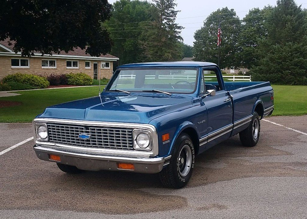 1972 chevrolet c k trucks for sale near silver creek minnesota 55358 autotrader classics. Black Bedroom Furniture Sets. Home Design Ideas