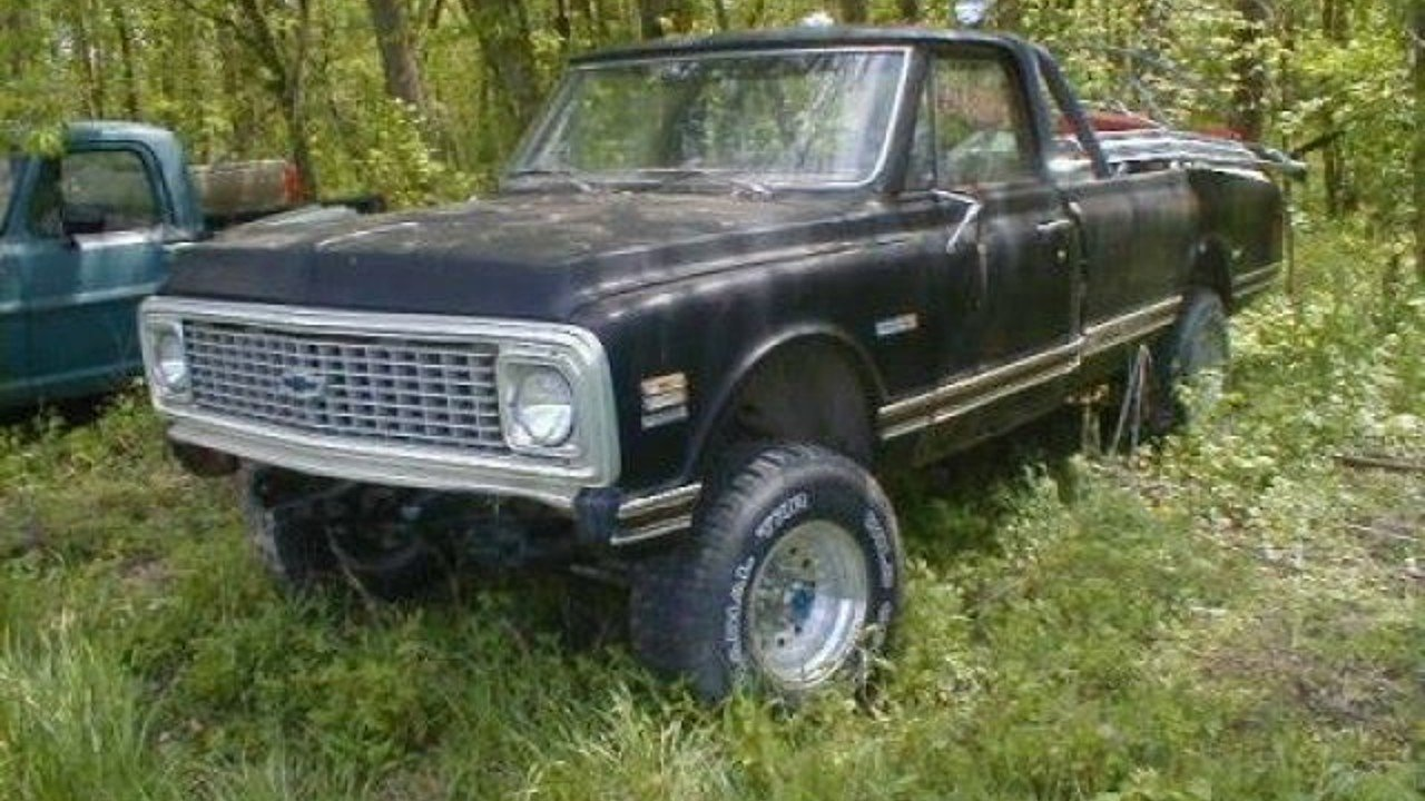 1972 Chevrolet C/K Trucks for sale 100879829