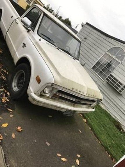 1972 Chevrolet C/K Trucks for sale 100837995