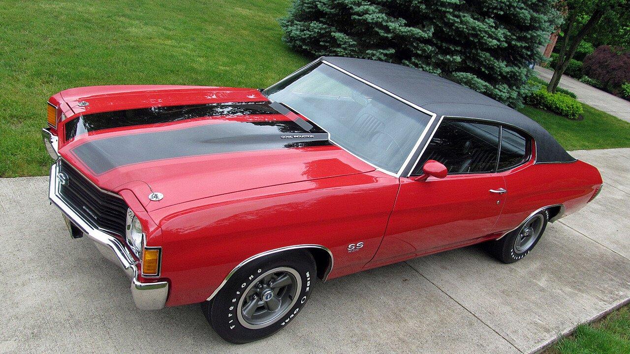 1972 Chevrolet Chevelle for sale near Norwalk, Ohio 44857 - Classics ...