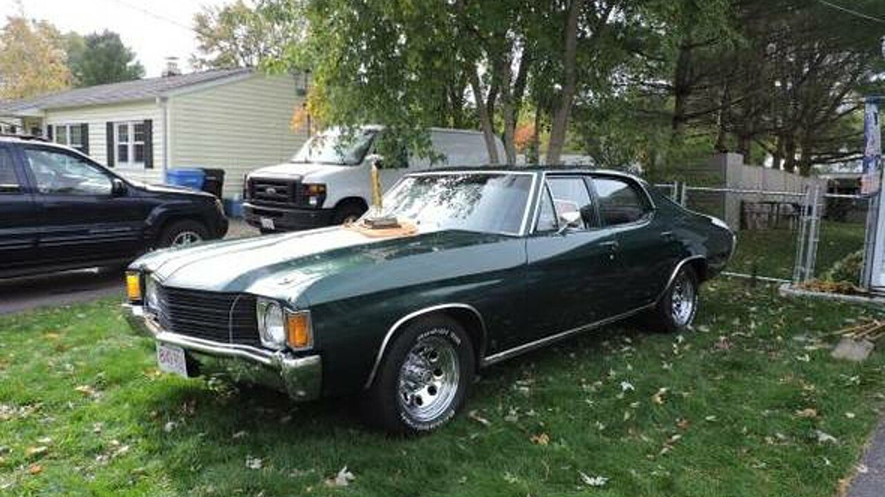 1972 Chevrolet Chevelle for sale 100820409