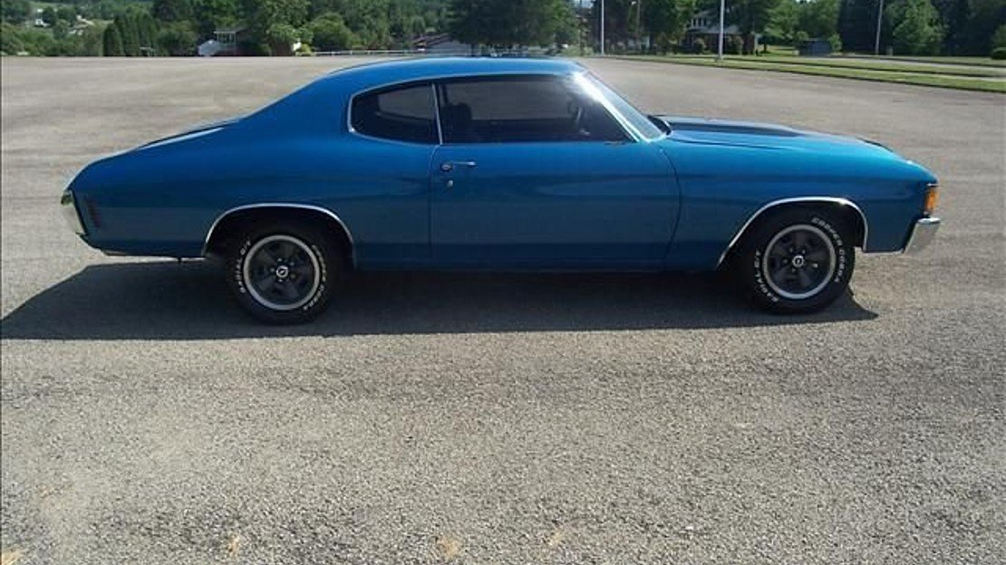1972 Chevrolet Chevelle for sale 100837218