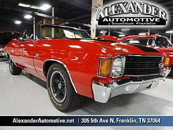 1972 Chevrolet Chevelle for sale 100860530