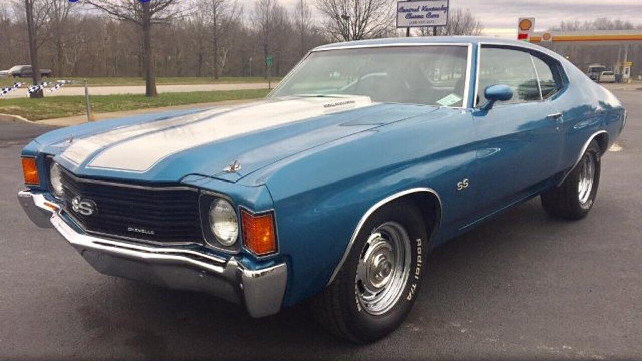 1972 Chevrolet Chevelle for sale near Paris, Kentucky 40361 ...
