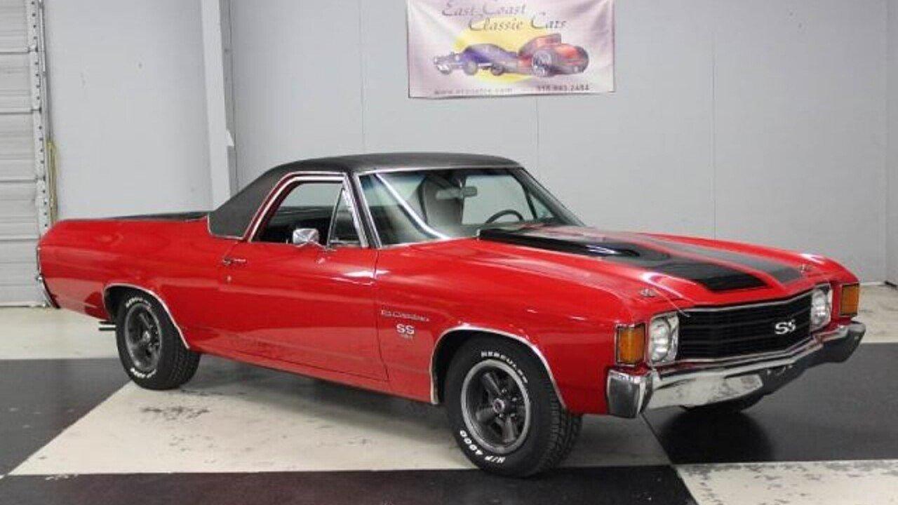 1972 Chevrolet El Camino for sale near Lillington, North Carolina ...