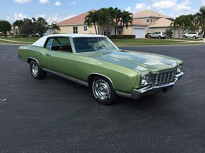 1972 Chevrolet Monte Carlo for sale 100861143