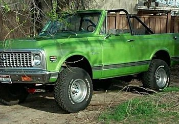 1972 Chevrolet Other Chevrolet Models for sale 100861223