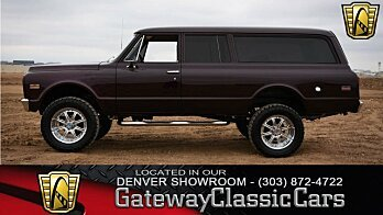 1972 Chevrolet Suburban for sale 100910350