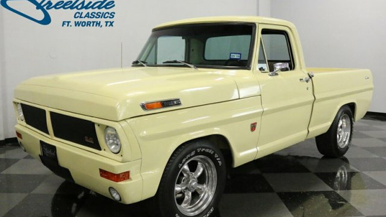 1972 Ford F100 for sale near Fort Worth, Texas 76137 - Classics on ...