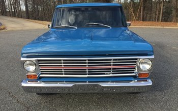 1972 Ford F100 2WD Regular Cab for sale 100962821