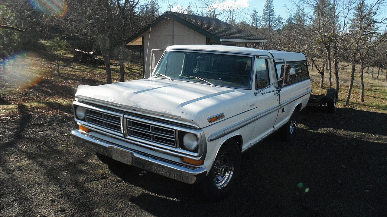 1972 Ford F250 2WD Regular Cab for sale 100834856